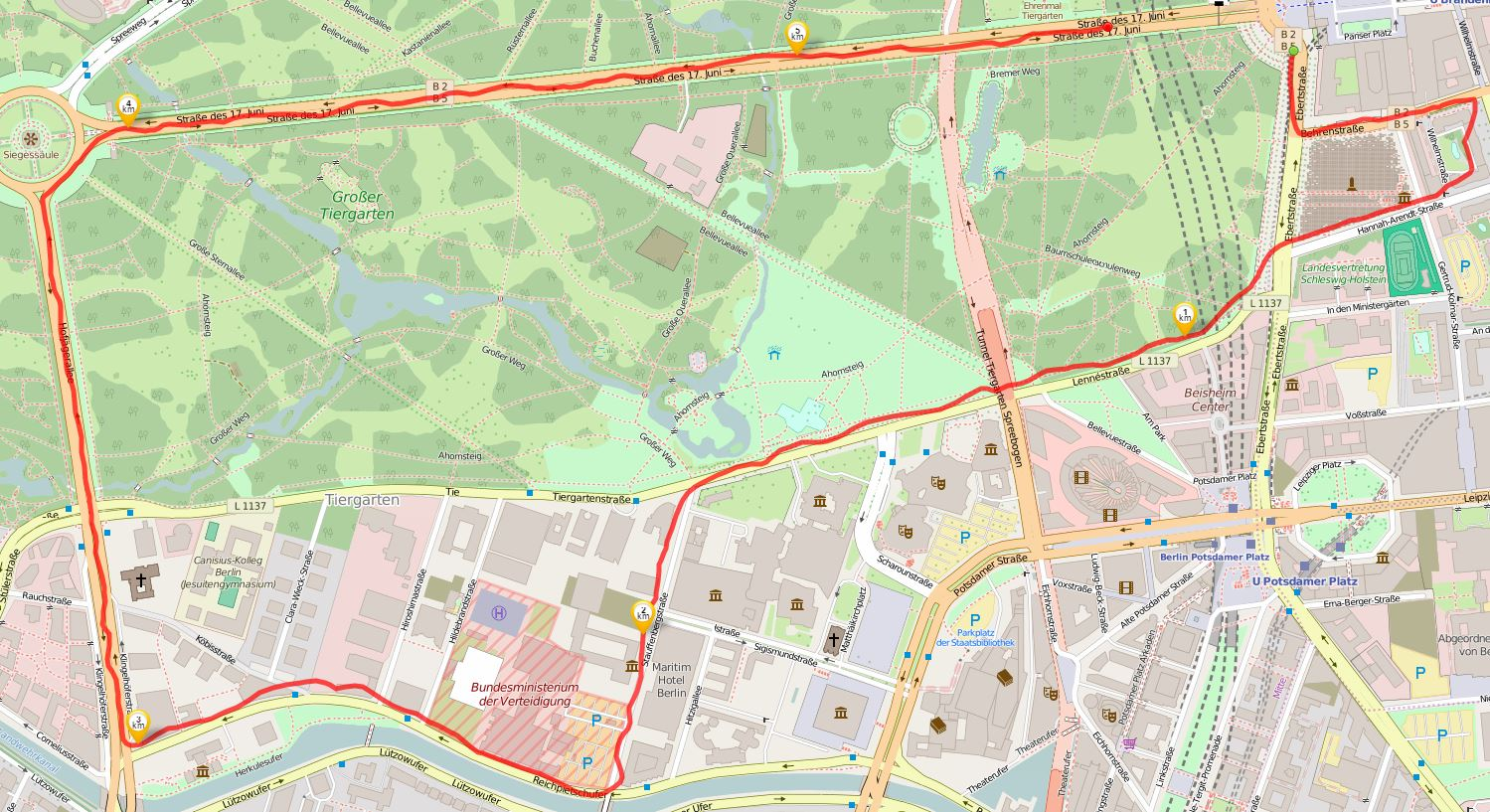 Quelle: runtastic, Open Street Map
