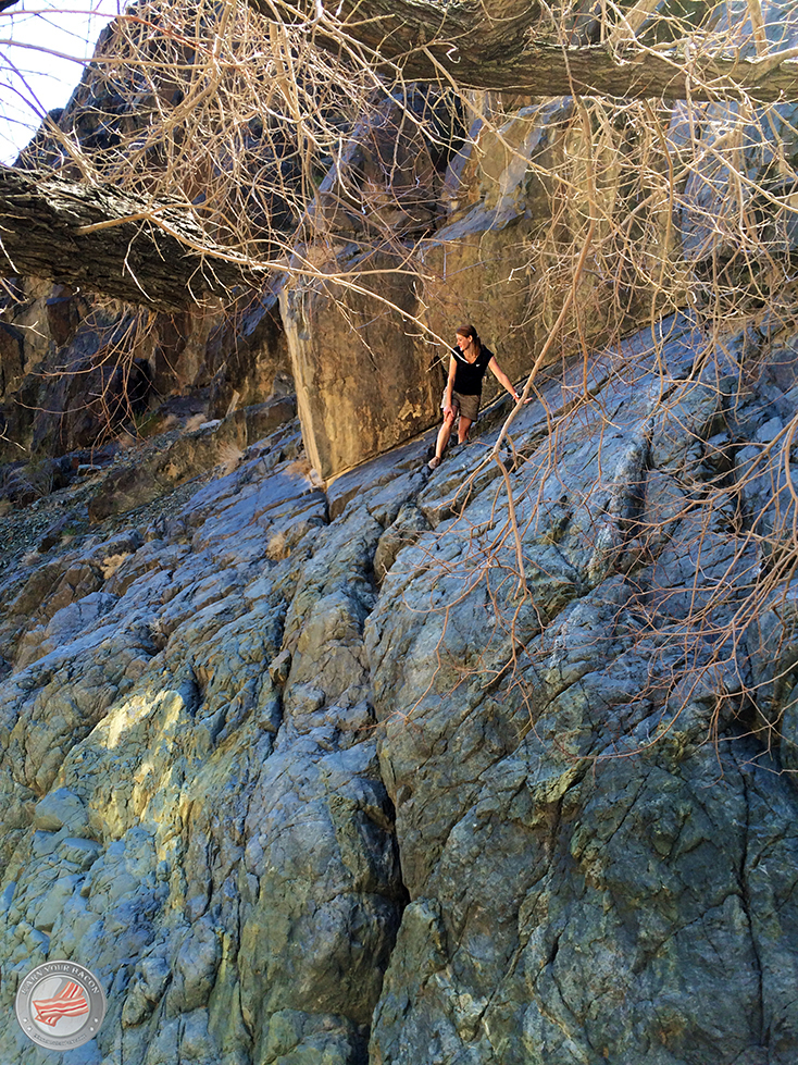 darwin falls climbing