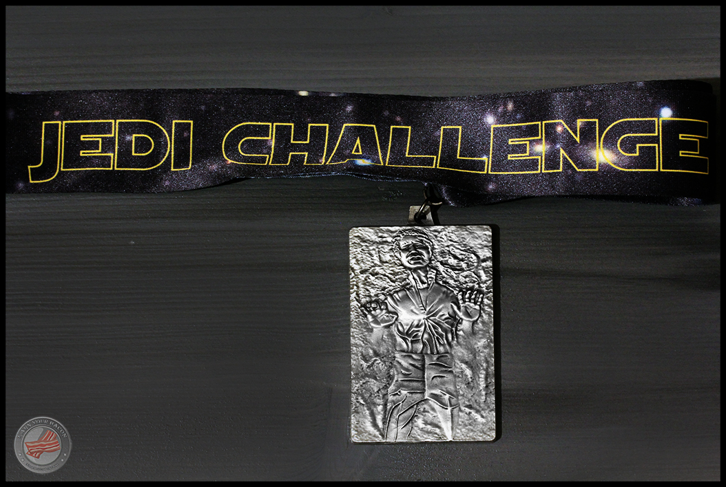 Han Solo Jedi Challenge 2014 medal