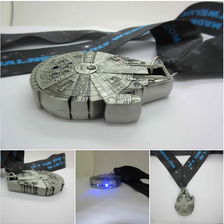 millenium falcon medal