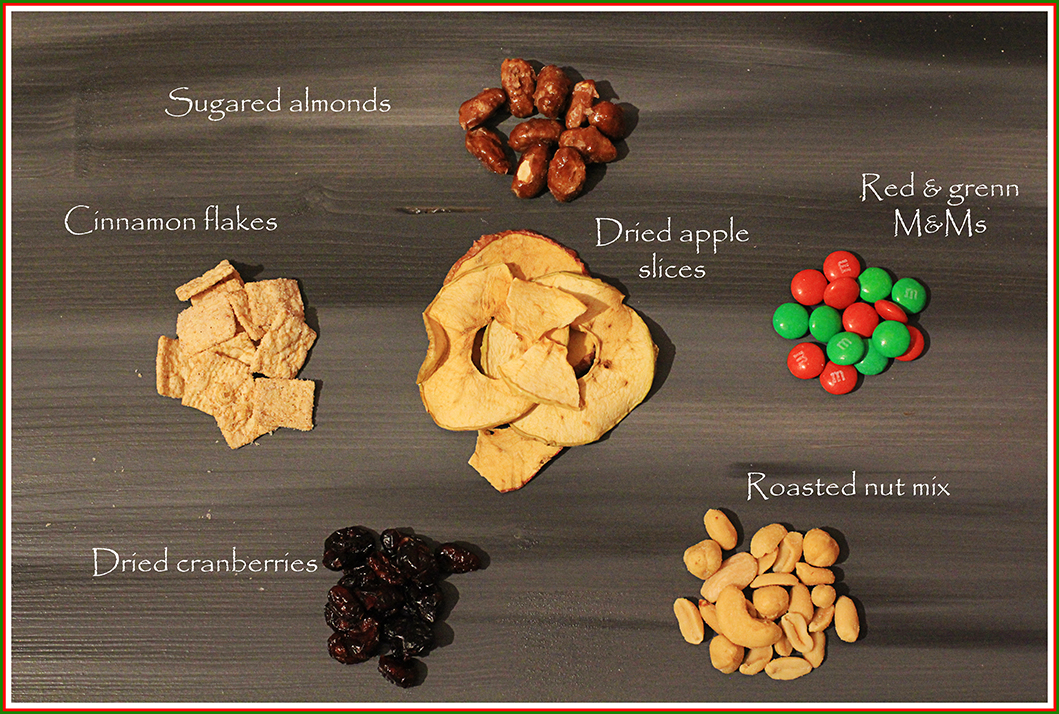 winter trail mix ingredients english