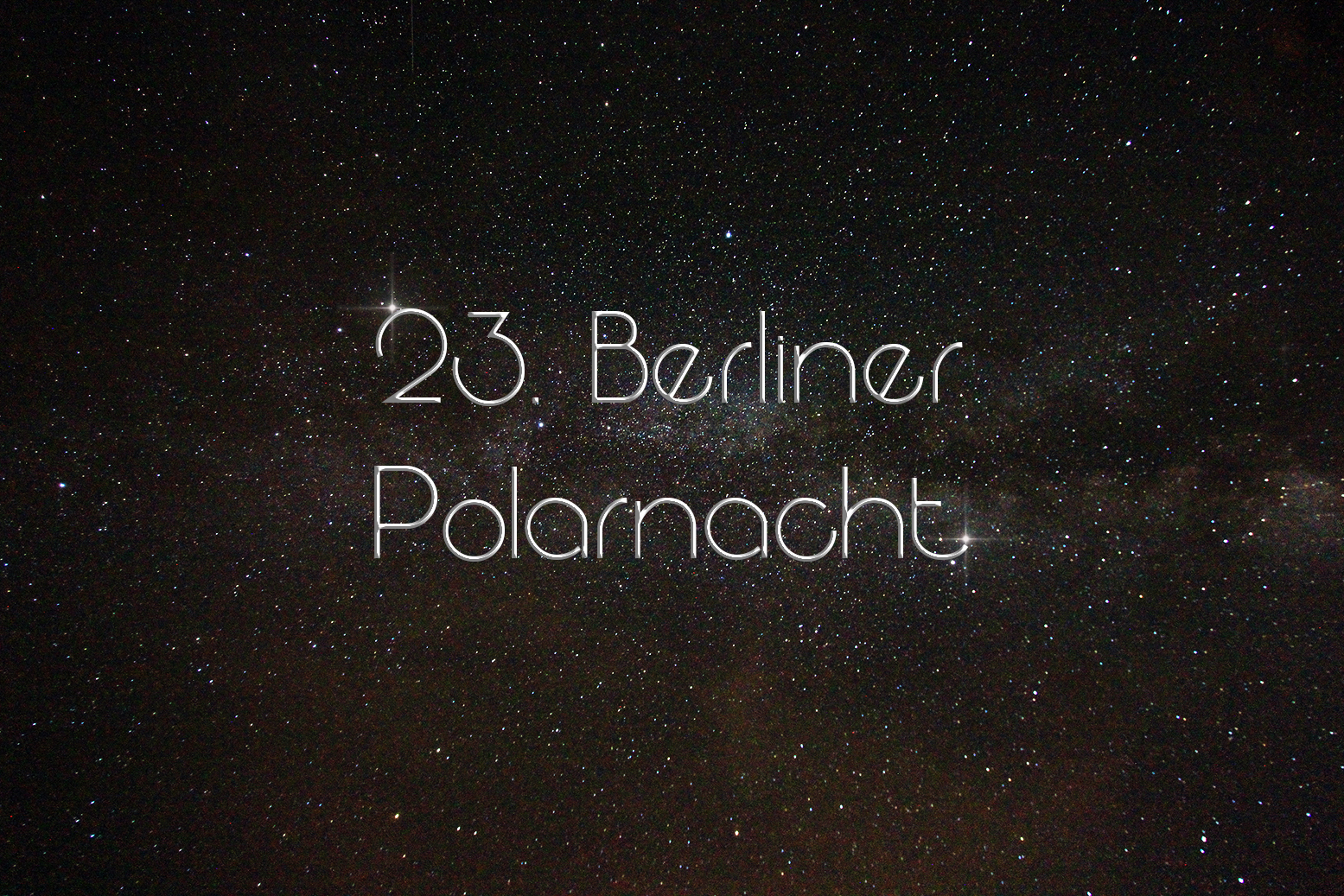 Berliner Polarnacht title2