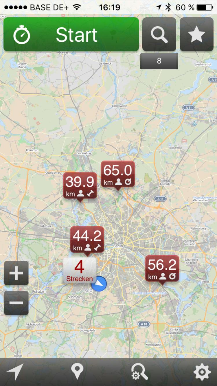 GPSies iOS4
