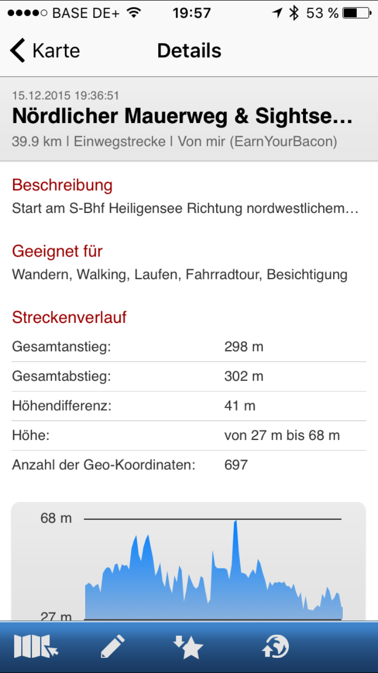 GPSies iOS6