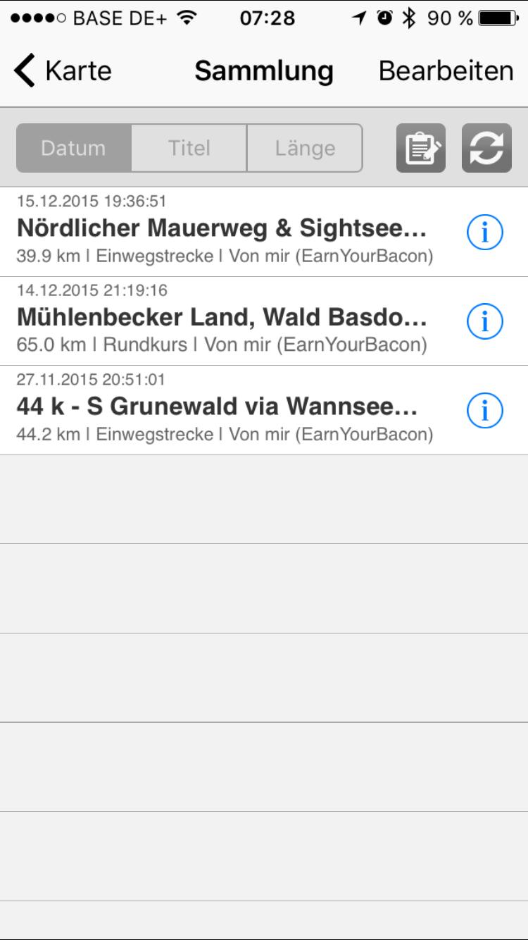 GPSies iOS7