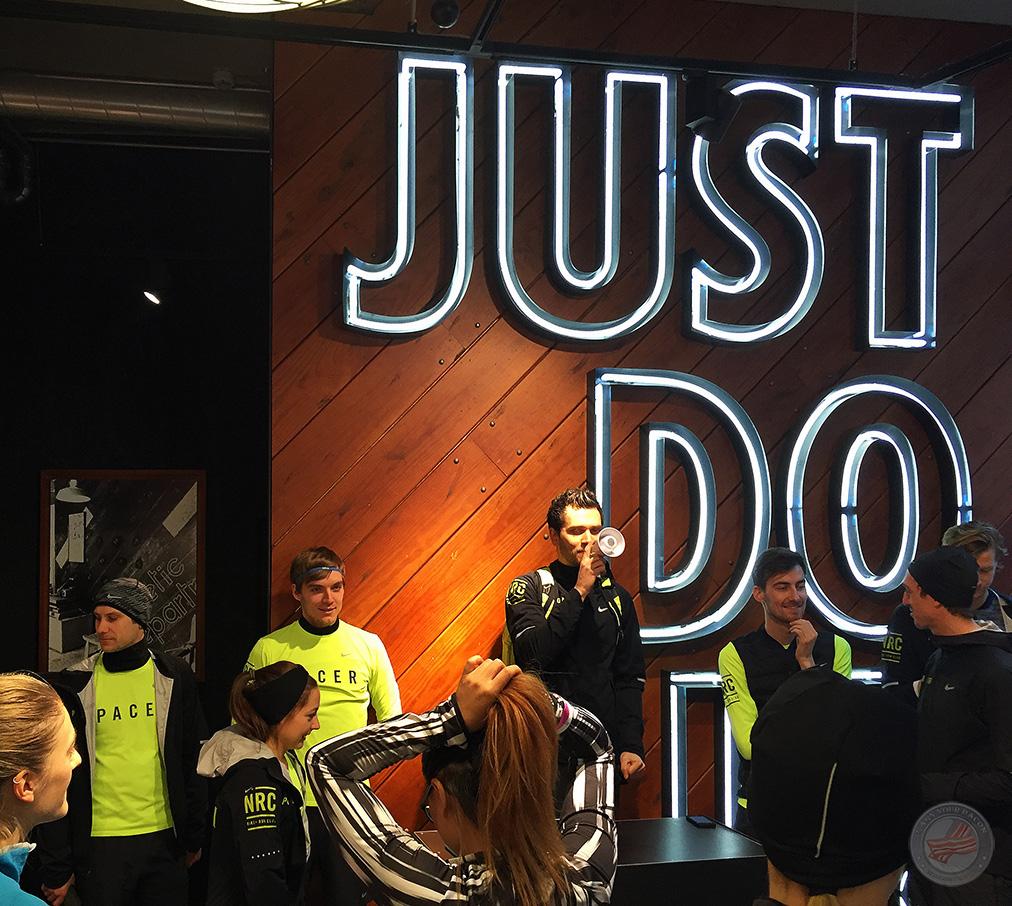 NRC Nike start
