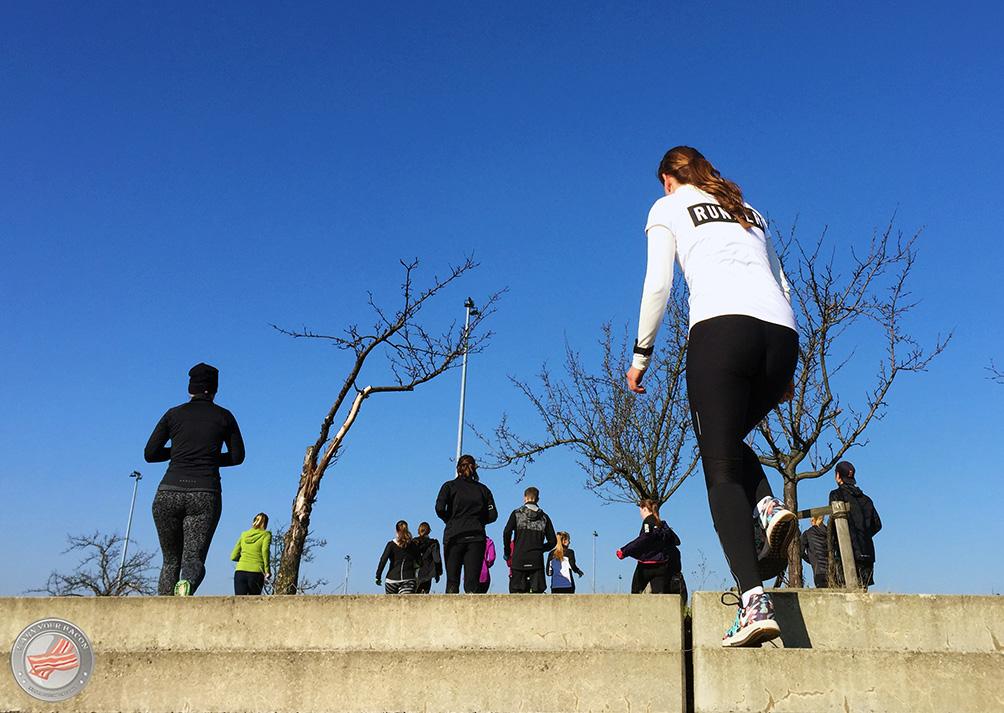 NRC Nike treppe