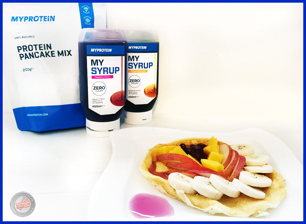 myprotein_pancake fruits
