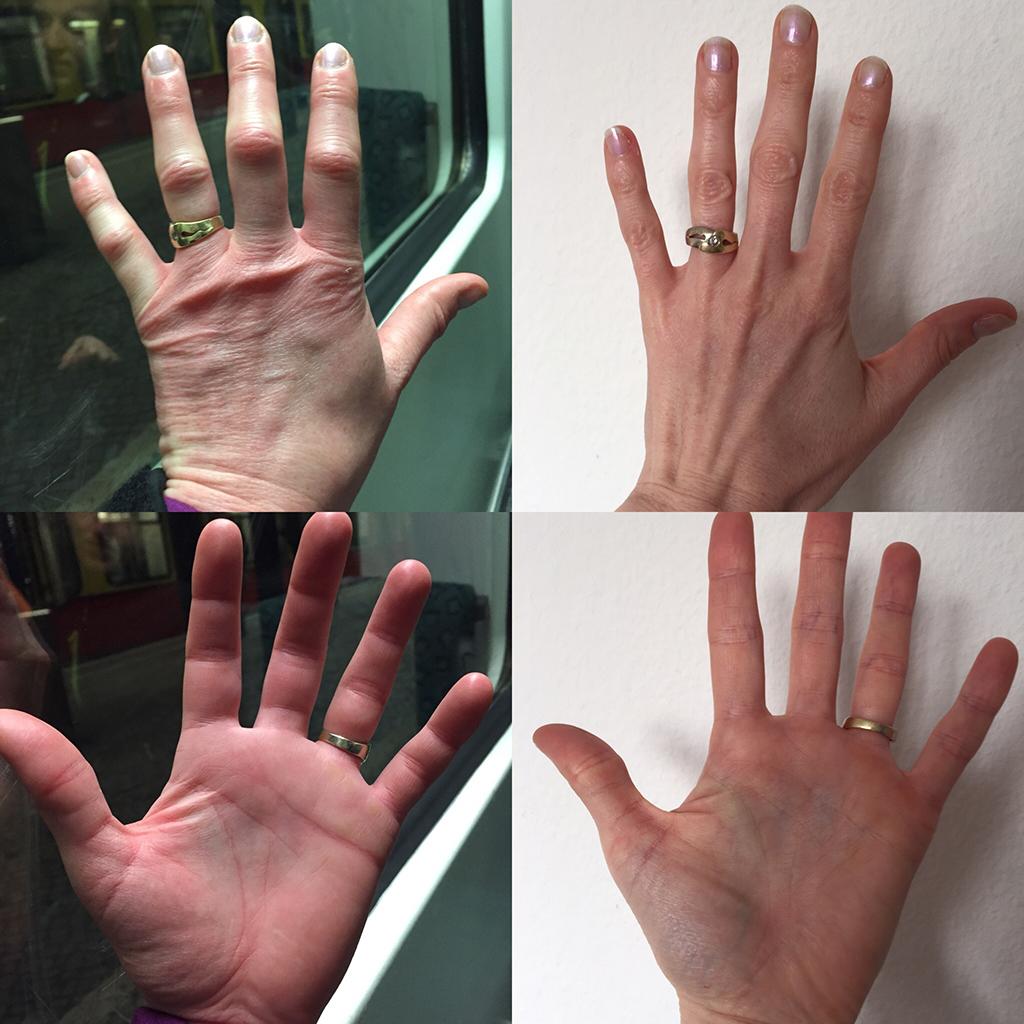 Mammutmarsch 3 - Handvergleich