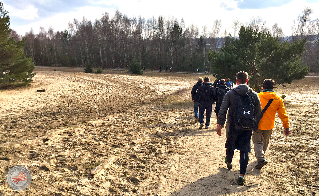 Mammutmarsch 3 - Mauerweg Sandstreifen