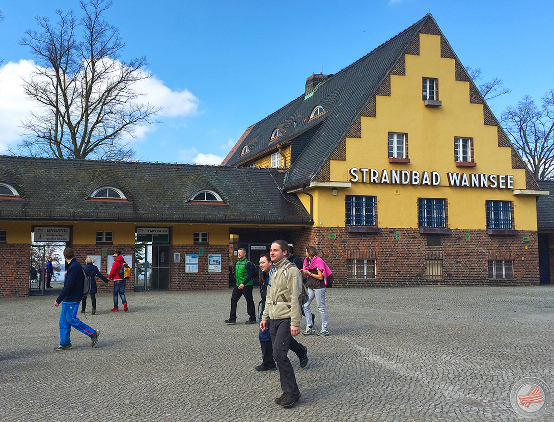 mammutmarsch training 4 Strandbad Wannsee