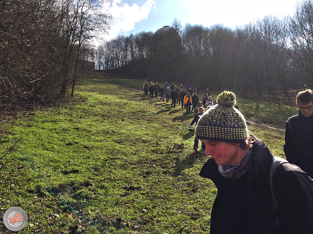 mammutmarsch training 4 abstieg Teufelsberg