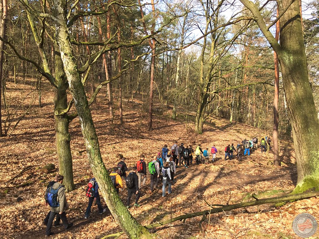 mammutmarsch training 4 grunewald 2