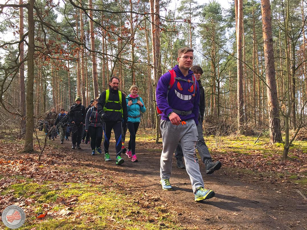 mammutmarsch training 4 grunewald