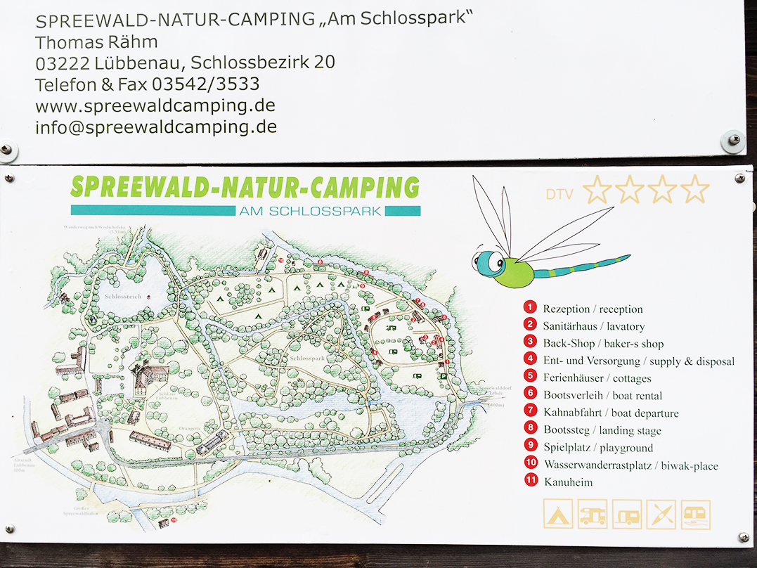 Paddelmarathon 2016 Spreewald Naturcamping Schlosspark