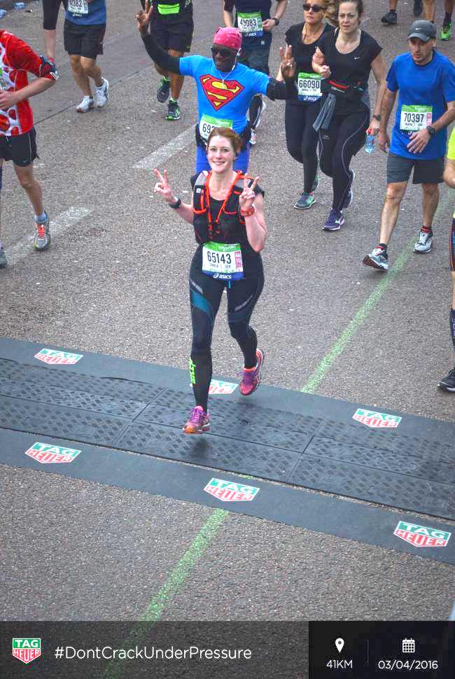 Paris Marathon 2016 41 km