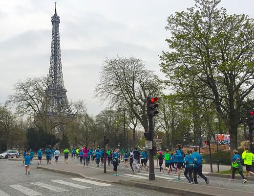 Paris Marathon 2016 Breakfast Run Eiffelturm1