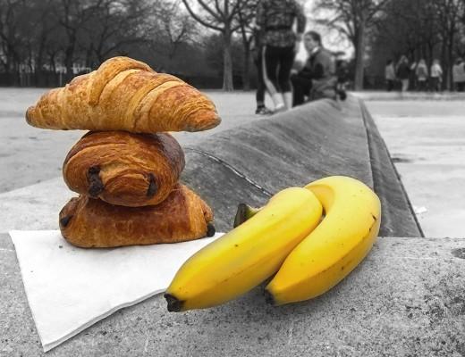 Paris Marathon 2016 Breakfast Run title