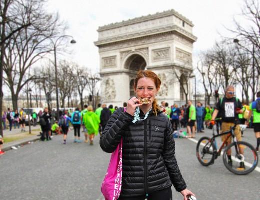 Paris Marathon 2016 Carola Keßler Arc de Triomph