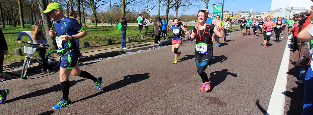 Paris Marathon 2016 Carola Keßler Chateau Vincennces