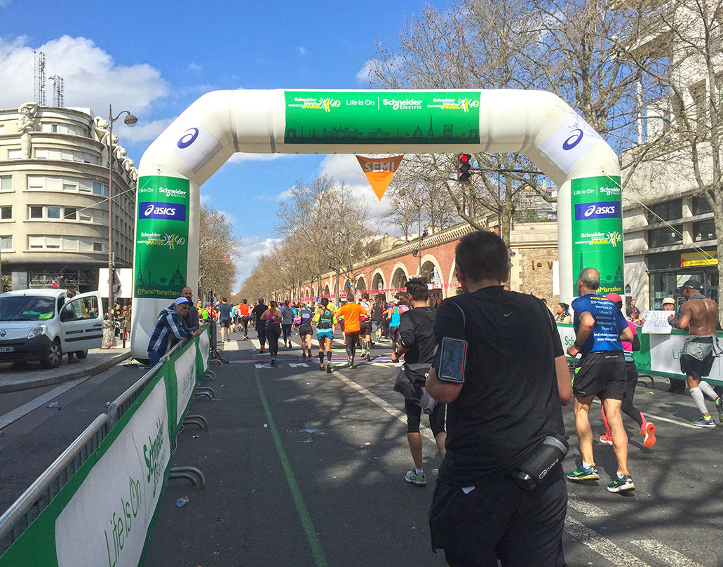 Paris Marathon 2016 Semi