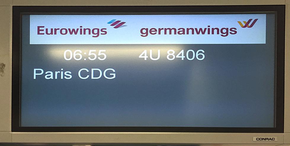 Paris Marathon 2016 eurowings Germanwings