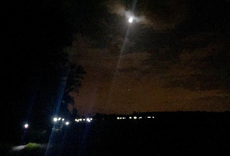 Mammutmarsch 2016 Stirnlampen-Karawane