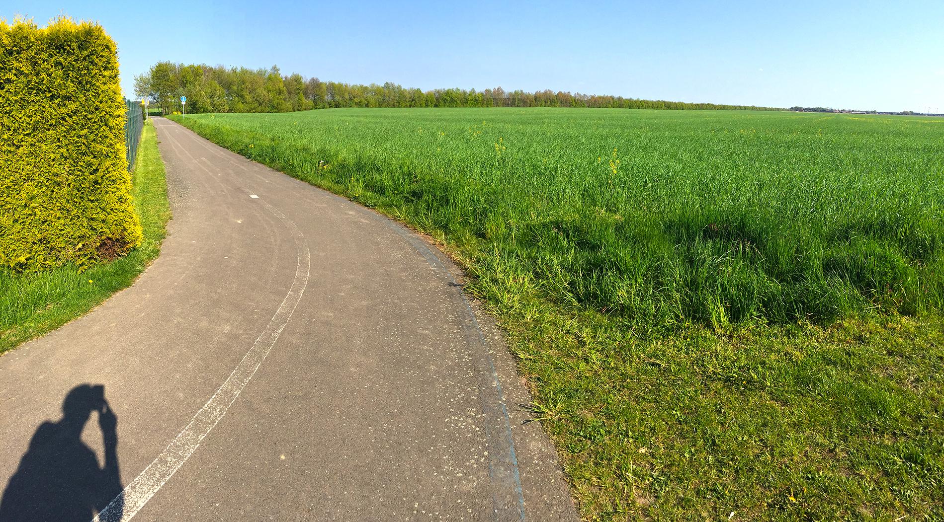RK6 - Endstück vor Wahlsdorf