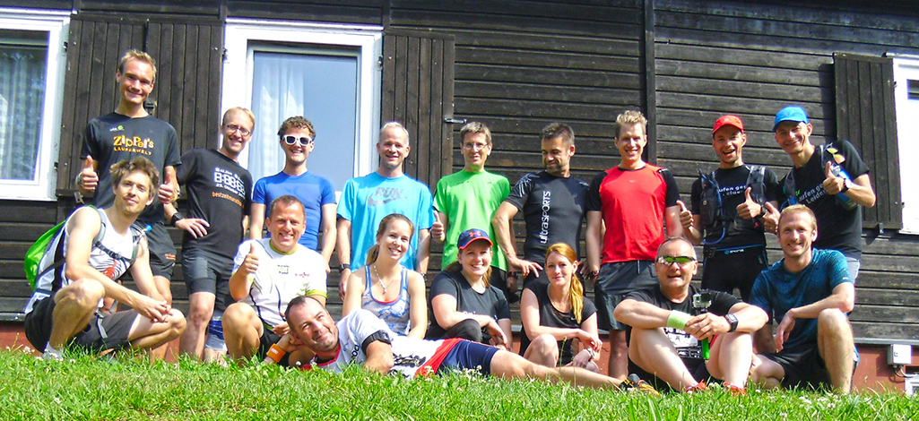 Bloggercamp Gruppe