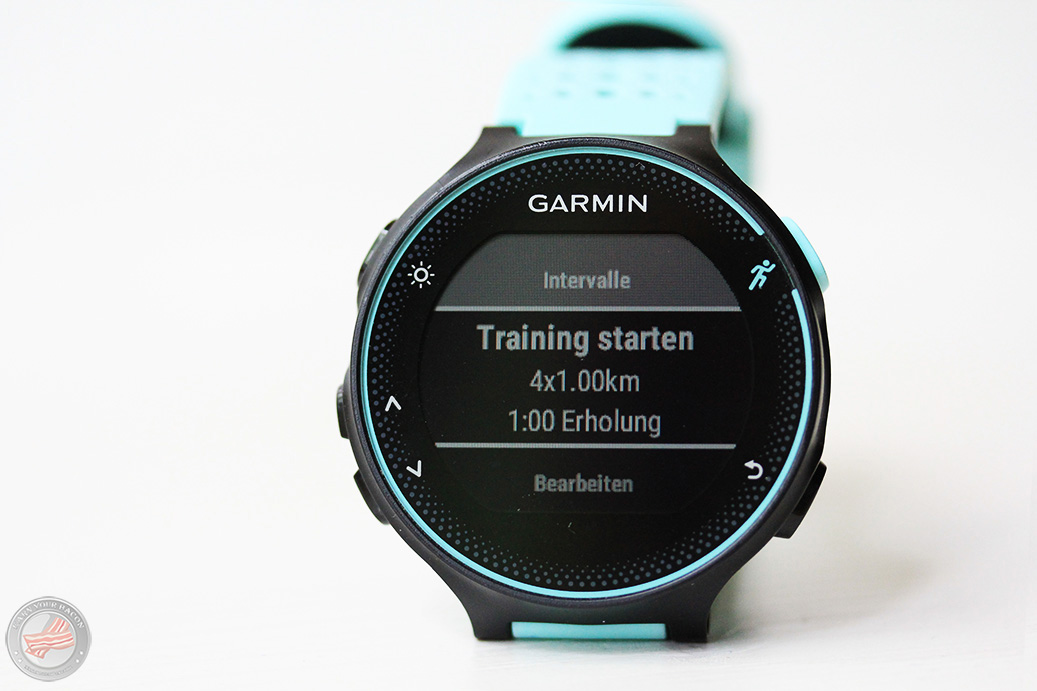Garmin Forerunner 235 Trainings