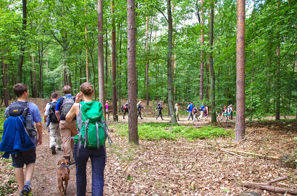 EYB-Wanderung Wandergruppe