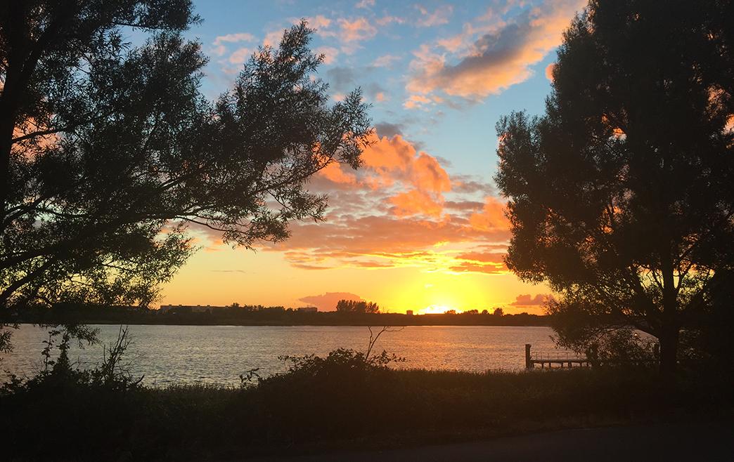 RostockHM Sonnenuntergang
