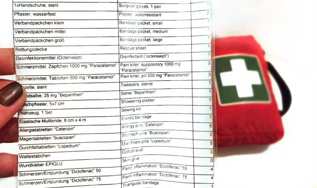 erste-hilfe-kit-inhaltsverzeichnis