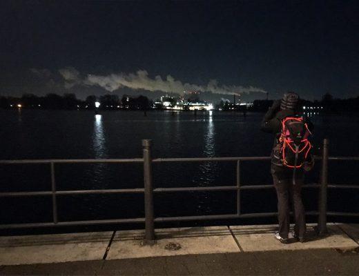 Berliner Polarnacht Foto aus Spandau
