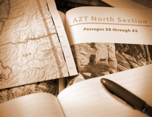 Stand Planung 2017 Arizona Trail