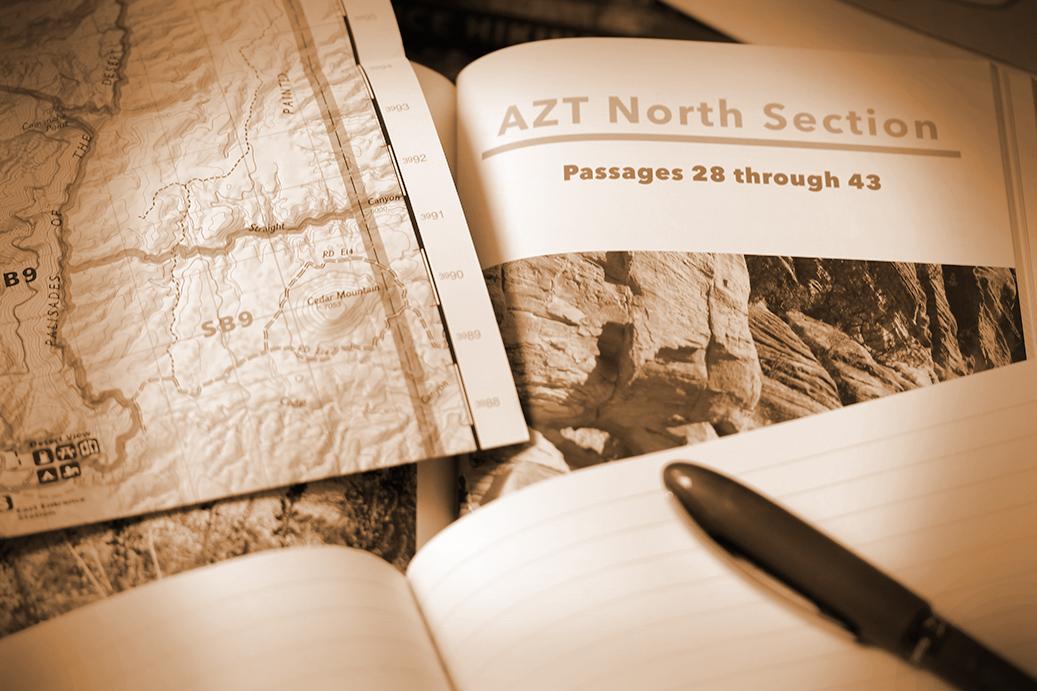 Stand Planung 2017 Arizona Trail