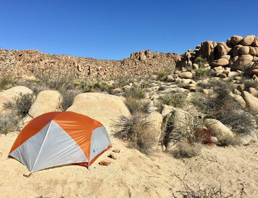 Joshua Tree Backcountry Camping