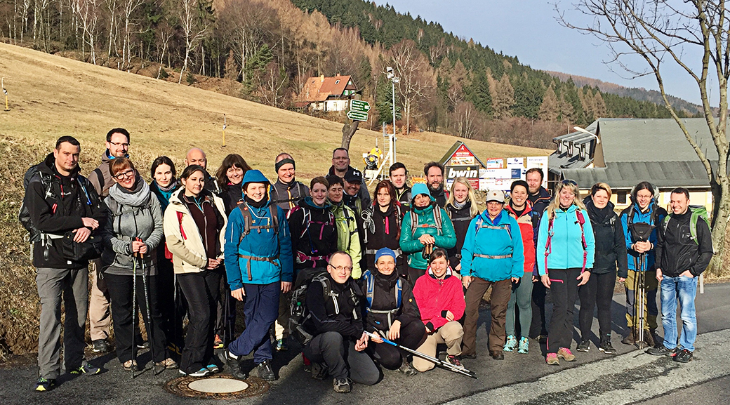 Gipfelstürmer Gruppenfoto